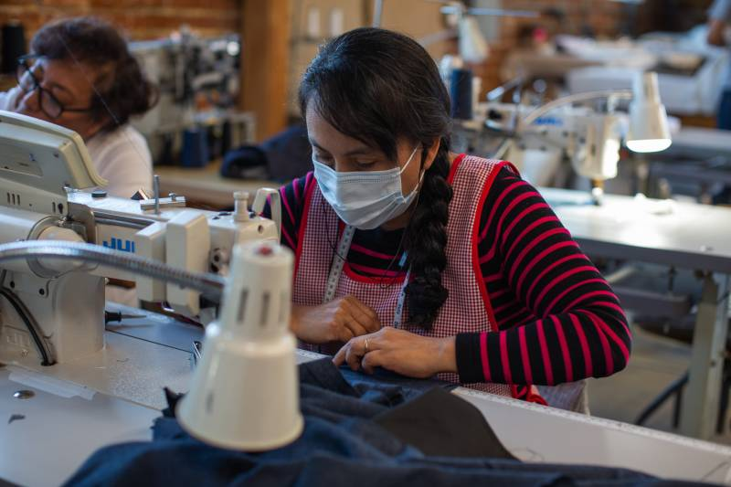 TEG specialist manufacturing clothing