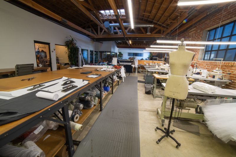 Small batch fashion production studio