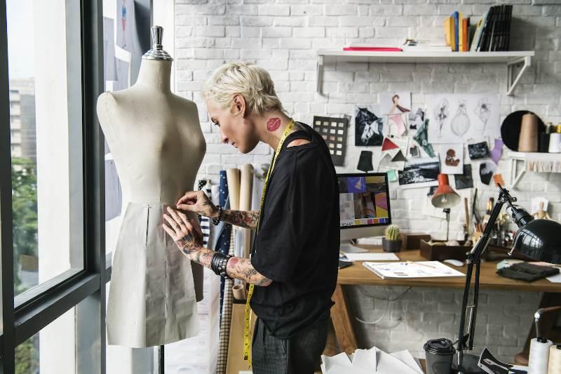 Sample clothing designer