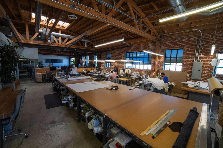 Interior of a manufacturing studio